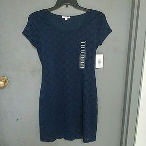 Isaac Mizrahi Navy Dress Size M